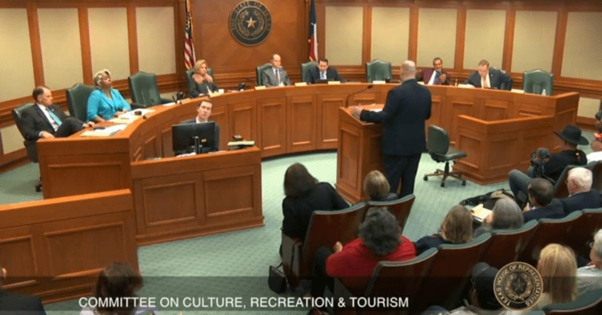 TNM Testifies on Alamo Cenotaph Bill