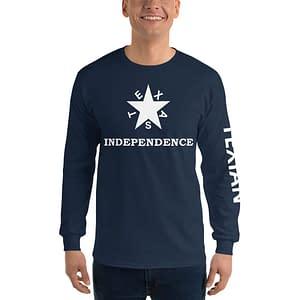Texas Independence Men's Long Sleeve Shirt
