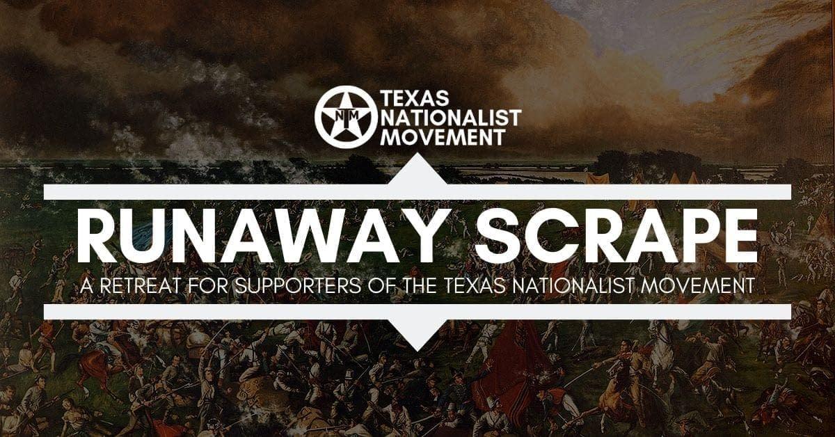 Runaway Scrape 2020 Is Coming