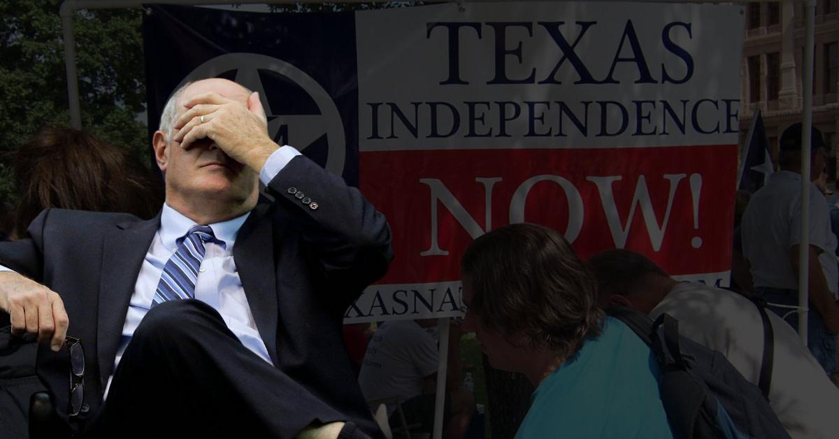 "Senator Kel Seliger Calls TEXIT Supporters ""Crazy"" On Radio Rant"