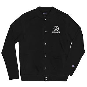 TNM Member Embroidered Champion Bomber Jacket
