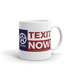 TEXIT NOW Glossy Mug