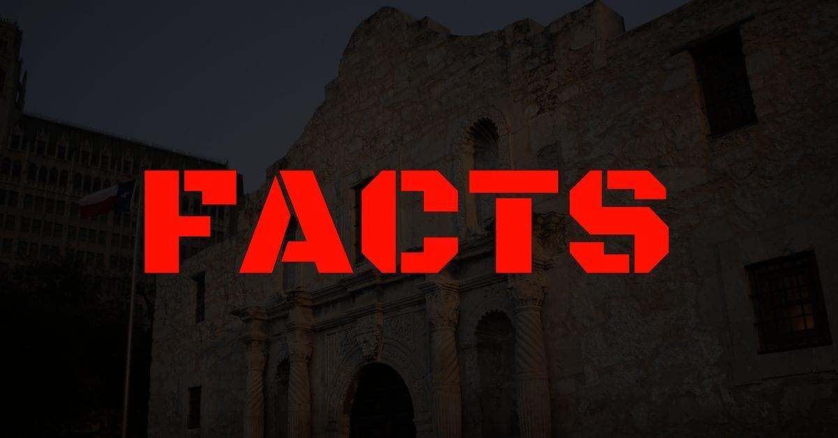 alamo-facts