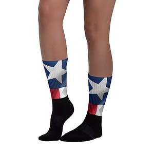 Texas Flag Socks