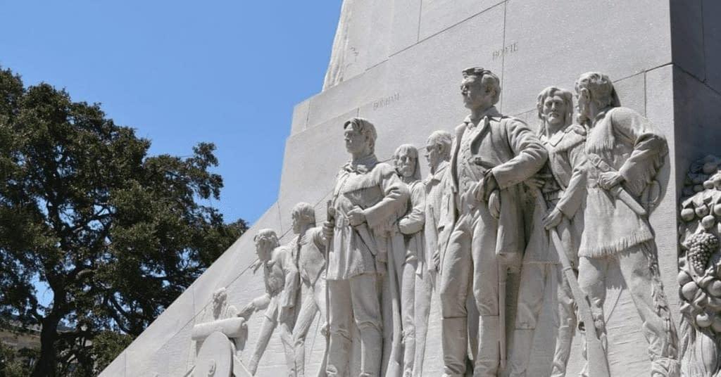 The Alamo Cenotaph