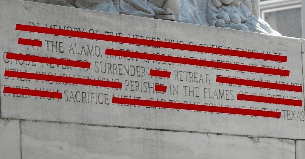The Alamo Cenotaph Loophole in SB226